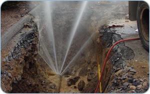 شركة المياه الوطنية كشف تسربات المياه 0564205775