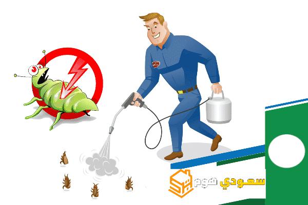 أفضل شركة مكافحة حشرات بحي الشفا