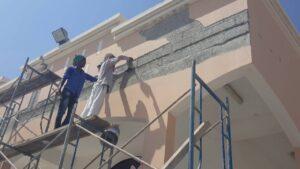 شركة معالجة تشققات الجدران الخارجية بالرياض